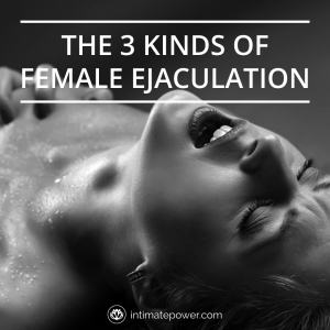 Thick female ejaculate